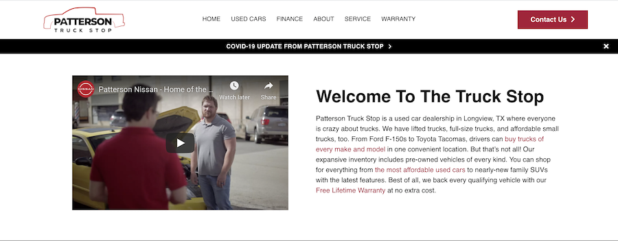 no-page content for car dealerships