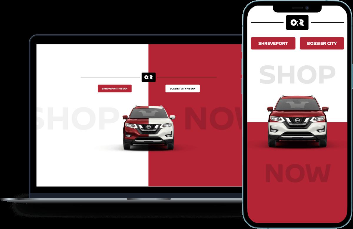 Orr Nissan Responsive Website (2)