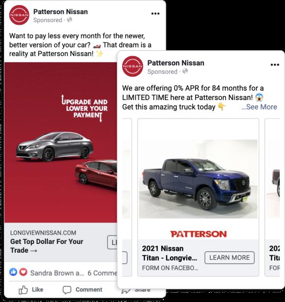 Patterson Nissan - Facebook Ads