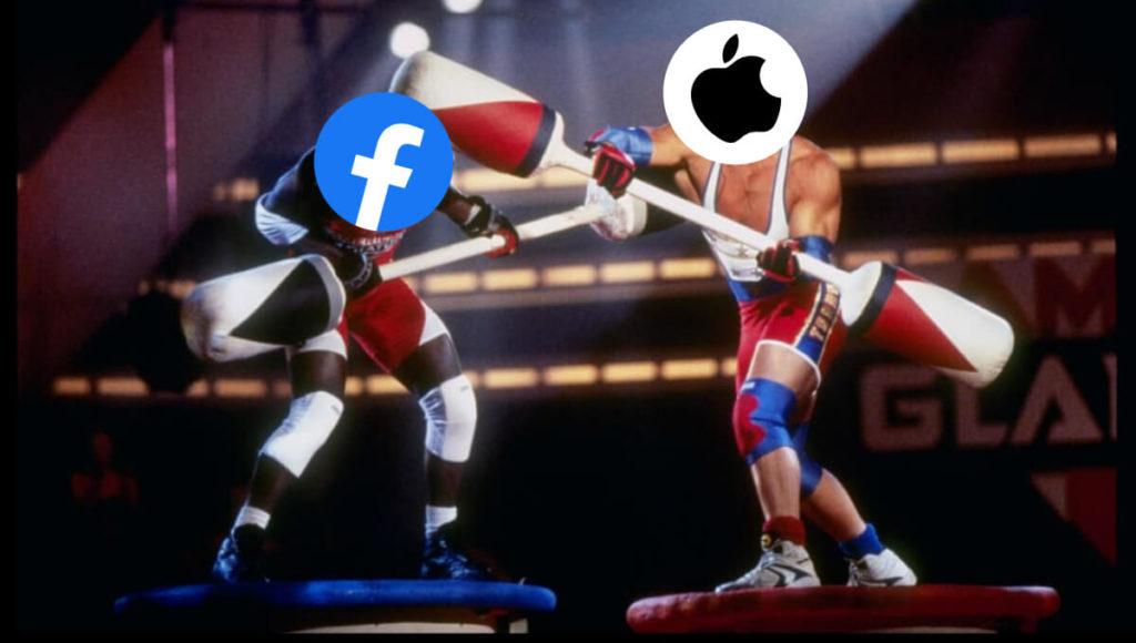 apple vs facebook jousting